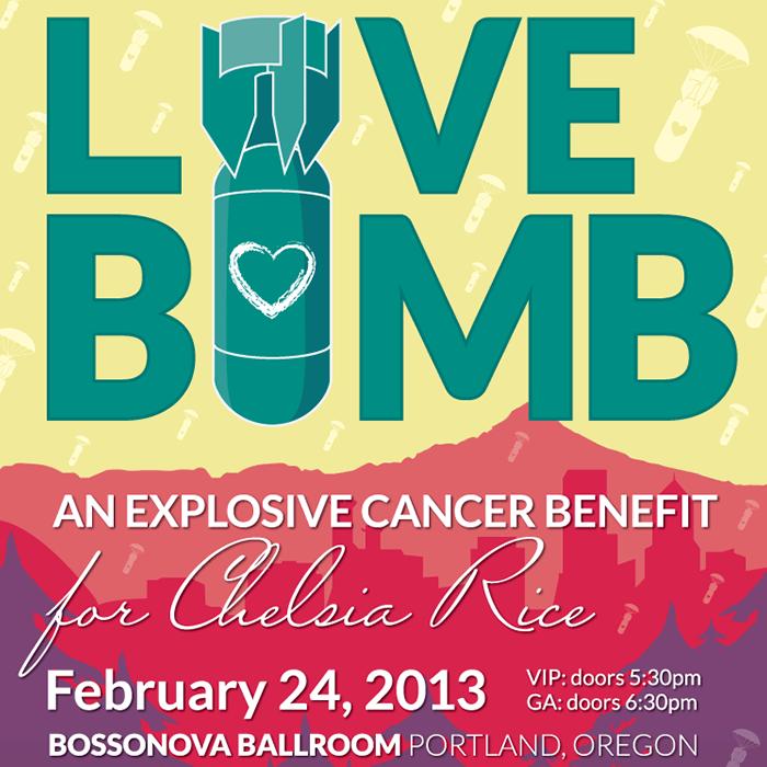 Love Bomb Poster Design