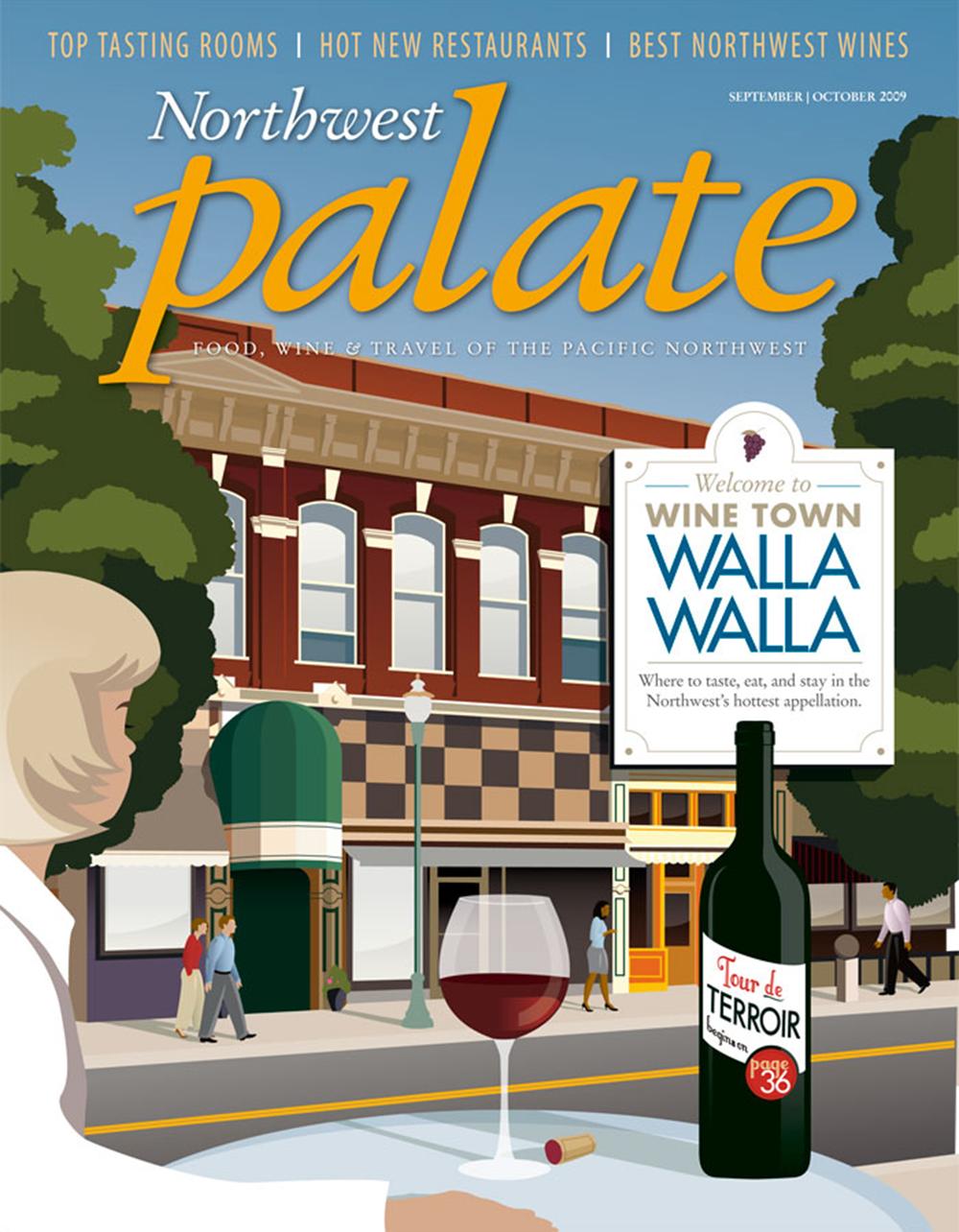 Northwest_Palate_Walla_Walla_Wine_Illustration_Design
